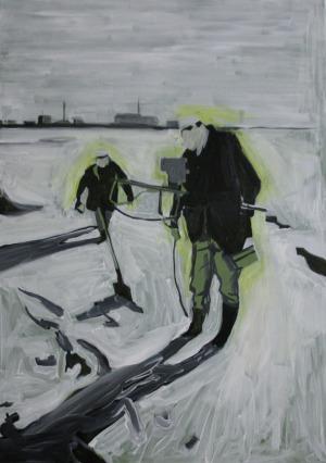 Chercheurs - 2013 - 65 x 46 cm