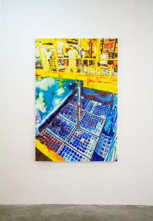 Bassin de Refroidissement 3 - 2016 - 164 x 110 cm