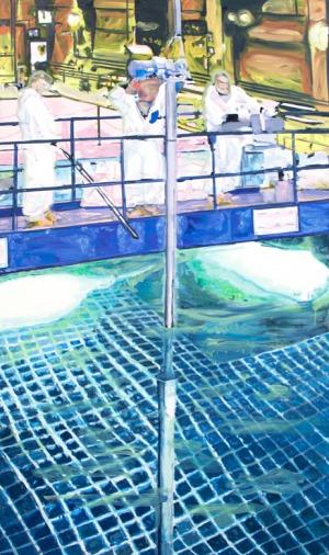 bassin de refroidissement 1 - 2016 - 175 x 103 cm