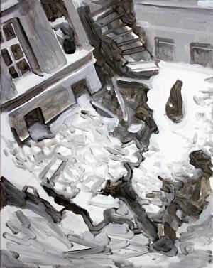 Ruines, 2013, 41 x 33 cm