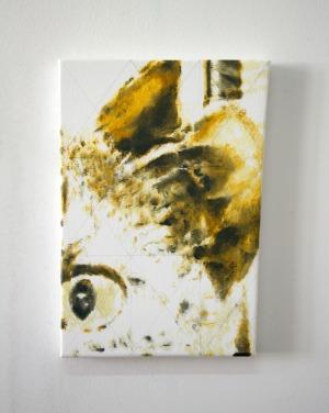 Sans Titre - 2017 - 31 x 21 cm - huile sur toile