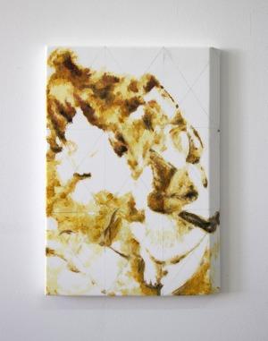 Sans Titre - 2017 - 34 x 24 cm - huile sur toile