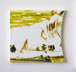 Sans Titre - 2017 - 25 x 27 cm - huile sur toile