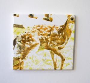 Sans Titre - 2017 - 27 x 30 cm - huile sur toile