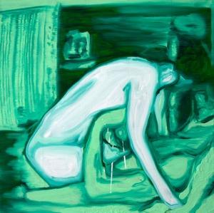 Night Vision (Voyeurisme 2) - 2016 - 50 x 50 cm - huile sur toile
