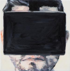 Réalité virtuelle 3 - 2015 - 20 x 20 cm - huile sur toile