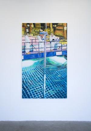 Bassin de Refroidissement 1 - 2016 - 174 x 103,5 cm