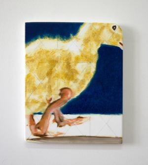 Sans Titre - 2017 - 31 x 25 cm - huile sur toile