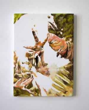 Sans Titre - 2017 - 38 x 25 cm - huile sur toile