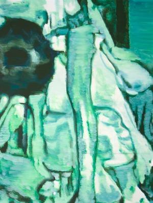 night vision - 76 x 65 - 2017 - huile sur toile